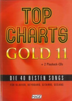 Top Charts Gold 11 inkl. 2 CD's